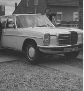 Taxi Hillmann damals